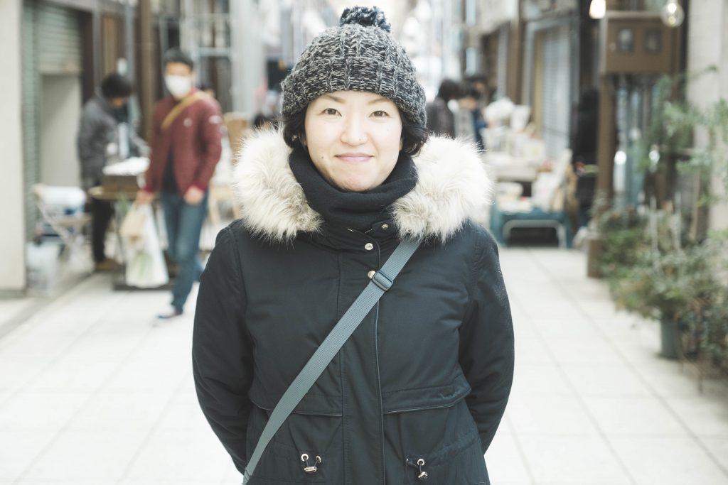 福知山ワンダーマーケット当日の美作 歩