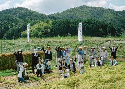 日本酒づくり体験@上六人部の集合写真